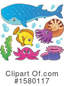 Sea Life Clipart #1580117 by visekart