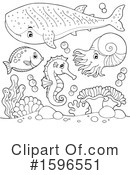 Sea Life Clipart #1596551 by visekart