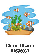 Sea Life Clipart #1696037 by Graphics RF