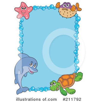 Sea Turtle Clipart #211792 by visekart