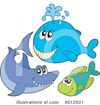 Whale Clipart #212021 by visekart