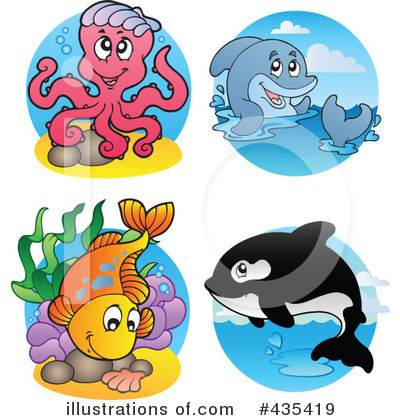 Orca Clipart #435419 by visekart