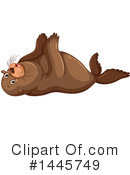 Royalty-Free (RF) Sea Lion Clipart Illustration #1445749