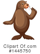 Royalty-Free (RF) Sea Lion Clipart Illustration #1445750