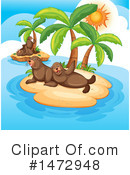 Royalty-Free (RF) Sea Lions Clipart Illustration #1472948