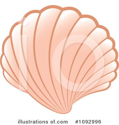 Sea Shell Clipart #1092996 by Lal Perera