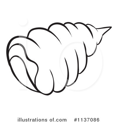 Seashell Clipart #1137086 by Graphics RF