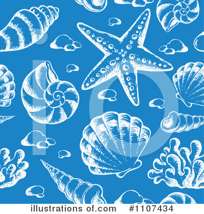 Sea Shells Clipart #1107434 by visekart