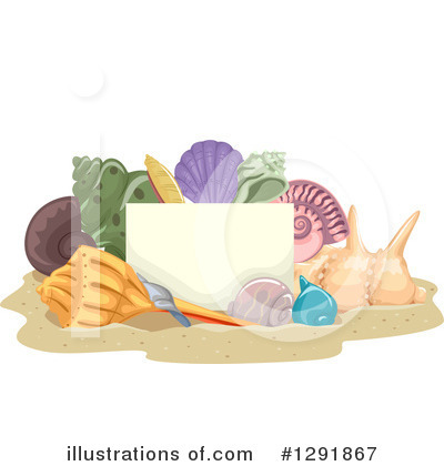 Seashell Clipart #1291867 by BNP Design Studio