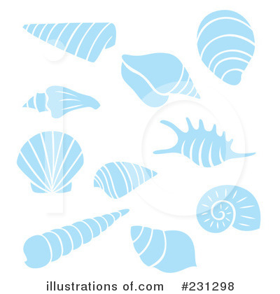 Sea Shell Clipart #231298 by Cherie Reve