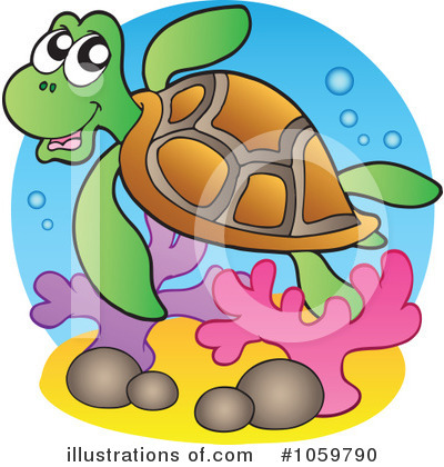 Turtle Clipart #1059790 by visekart