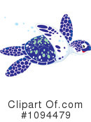 Royalty-Free (RF) sea turtle Clipart Illustration #1094479