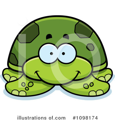 Sea Turtle Clipart #1098174 by Cory Thoman