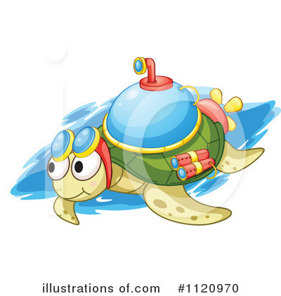 Sea Turtle Clipart #1120970 by Graphics RF