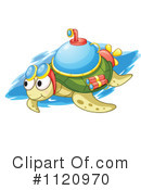 Royalty-Free (RF) sea turtle Clipart Illustration #1120970