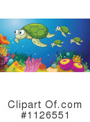 Royalty-Free (RF) sea turtle Clipart Illustration #1126551