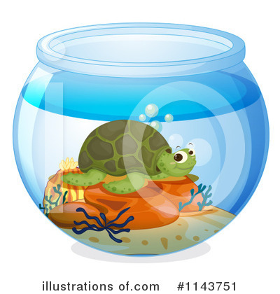 Sea Turtle Clipart #1143751 by Graphics RF