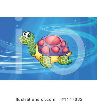 Sea Turtle Clipart #1147632 by Graphics RF