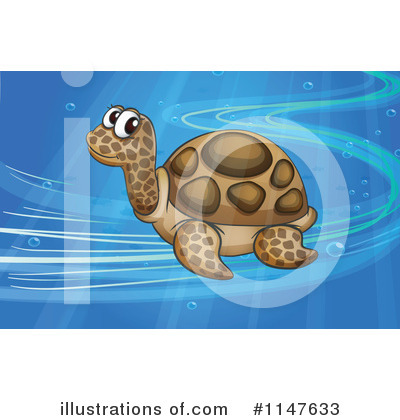 Sea Turtle Clipart #1147633 by Graphics RF