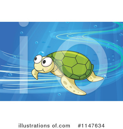 Sea Turtle Clipart #1147634 by Graphics RF