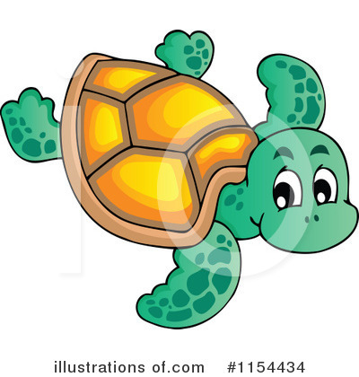 Sea Turtle Clipart #1154434 by visekart