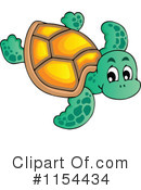 Royalty-Free (RF) sea turtle Clipart Illustration #1154434