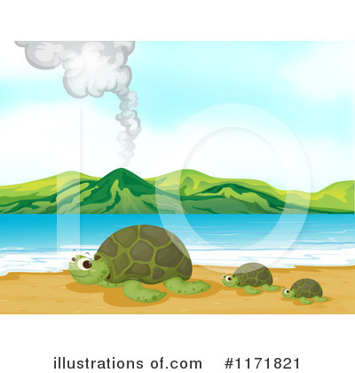 Sea Turtle Clipart #1171821 by Graphics RF