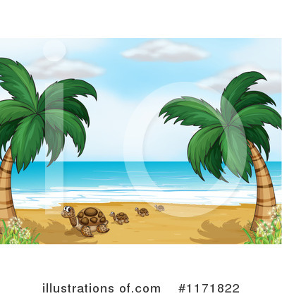 Sea Turtle Clipart #1171822 by Graphics RF