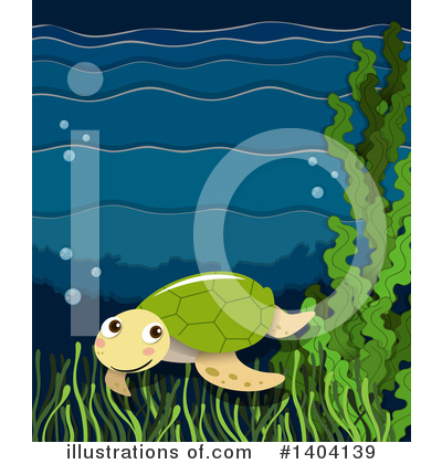 Sea Turtle Clipart #1404139 by Graphics RF