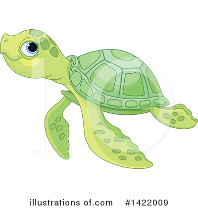 Sea Turtle Clipart #1422009 by Pushkin