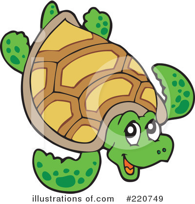 Sea Turtle Clipart #220749 by visekart