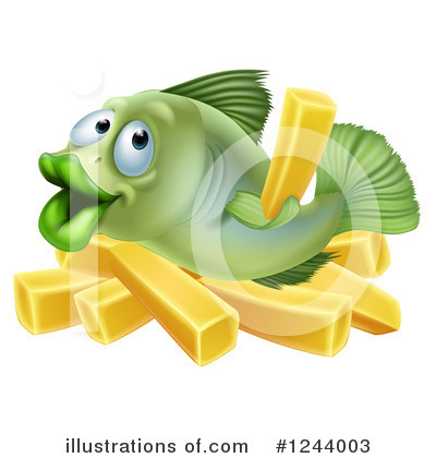 Fish Clipart #1244003 by AtStockIllustration