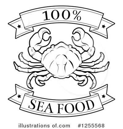 Crab Clipart #1255568 by AtStockIllustration