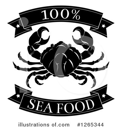 Crab Clipart #1265344 by AtStockIllustration