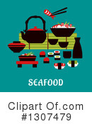 Seafood Clipart #1307479 by Vector Tradition SM