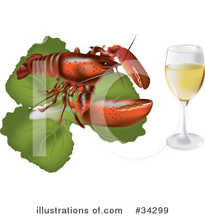 Lobster Clipart #34299 by Eugene