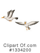 Seagull Clipart #1334200 by Graphics RF