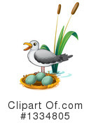Seagull Clipart #1334805 by Graphics RF