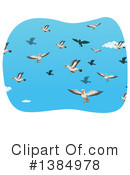 Seagull Clipart #1384978 by Graphics RF