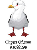 Seagull Clipart #1692299 by Pushkin