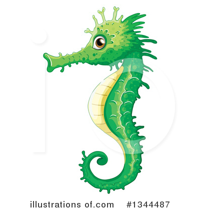 Seahorse Clipart #1344487 by Graphics RF