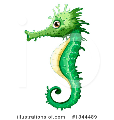 Seahorse Clipart #1344489 by Graphics RF