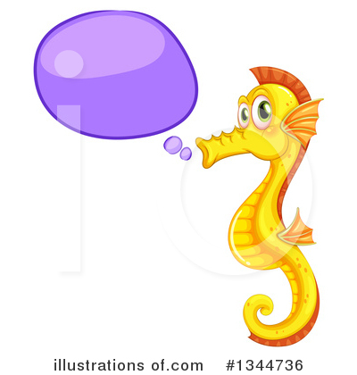 Seahorse Clipart #1344736 by Graphics RF