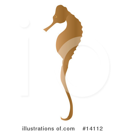 Seahorse Clipart #14112 by Rasmussen Images