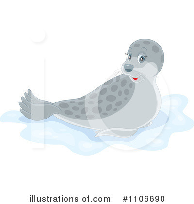 Seal Clipart #1106690 by Alex Bannykh