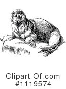 Royalty-Free (RF) seal Clipart Illustration #1119574