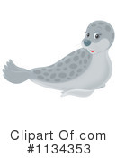 Royalty-Free (RF) seal Clipart Illustration #1134353