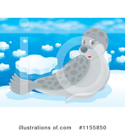 Seal Clipart #1155850 by Alex Bannykh