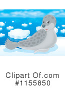 Royalty-Free (RF) Seal Clipart Illustration #1155850