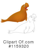 Royalty-Free (RF) Seal Clipart Illustration #1159320